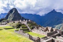 Machu Pichu in Peru. Machu Pichu, Peru - May 16 : The Lost City of the Incas or Machu Pichu, beautiful site in Peru. May 16 2016, Machu Pichu Peru royalty free stock photography
