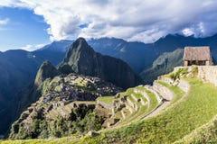 Machu Pichu in Peru Royalty Free Stock Photography