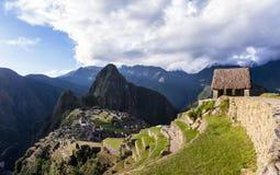 Machu Pichu in Peru. Machu Pichu, Peru - May 16 : The Lost City of the Incas or Machu Pichu, beautiful site in Peru. May 16 2016, Machu Pichu Peru stock photo