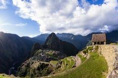 Machu Pichu in Peru Royalty Free Stock Image