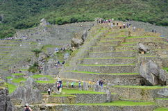 Machu Pichu, Peru South America. Incan Ruins, Machu Pichu in Peru South America Stock Images
