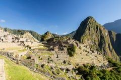 Machu Pichu. Photo taken in Machu Pichu stock image