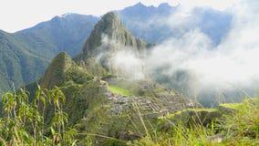 Machu Pichu Timelaps near Cuzco in Peru