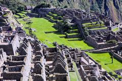 Machu Pichu World Heritage Site, Peru Royalty Free Stock Image