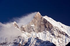 Machu Puchare - The Fishtail Royalty Free Stock Photo