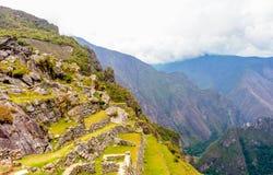 Machu tarasy Picchu Zdjęcia Stock