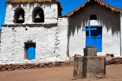 Machuca in Atacama Desert, Chile Stock Image
