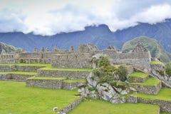 machuperu för stad incas förlorad picchu Arkivfoton