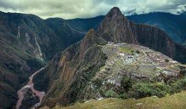 Machupicchu. Peru world wonder Stock Photo