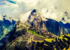 MachuPicchu Wonder Stock Photo