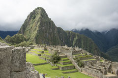 Machupichu landscape Stock Image