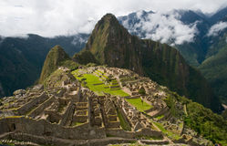 Machupichu Stock Photo