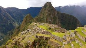 Machupichu Perù Fotografia Stock Libera da Diritti