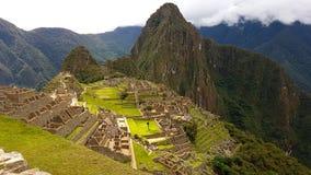 Machupichu Perù Fotografie Stock Libere da Diritti