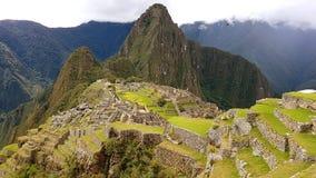 Machupichu Peru Lizenzfreie Stockbilder