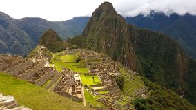 Machupichu Peru Lizenzfreie Stockfotos