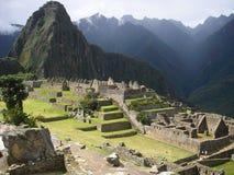 Machupichu-Ruinen Stockbild