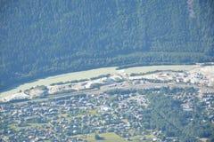 Maciço de Mont Blank imagem de stock royalty free