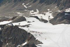 Maciço de Mont Blank fotografia de stock royalty free