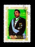 Macias,明确的各种各样的原因serie总统,大约1975年 库存照片