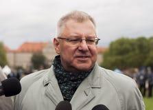 Maciej Jankowski, στίλβωση κάτω από το Υπουργό Εξωτερικών για το Υπουργείο ο Στοκ εικόνα με δικαίωμα ελεύθερης χρήσης