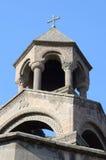 Macierzystego kościół cupola w Echmiadzin, Armenia Fotografia Stock