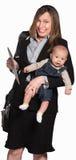 macierzysty dziecka działanie Zdjęcie Stock
