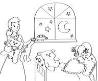 macierzysty dziecko pokój Fotografia Stock