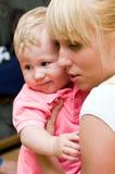 macierzysty dziecko syn Zdjęcie Royalty Free