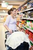 macierzysty frachtu supermarket Fotografia Royalty Free