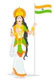 Macierzysty India royalty ilustracja