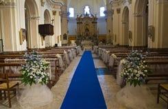 Macierzysty kościół Oriolo Calabria Włochy Zdjęcie Stock