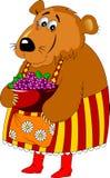 Macierzysty niedźwiedź Fotografia Royalty Free