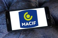 Macif保险公司商标 免版税库存照片