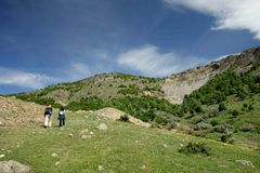 In Macin Mountains. Dobrogea - some of the oldest mountains in Europe Stock Images