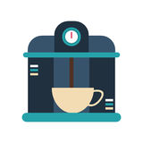 macine coffee maker cup Royalty Free Stock Photo