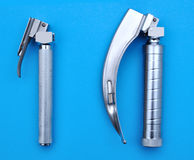 Macintosh and Miller laryngoscope Royalty Free Stock Images