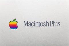 Macintosh più immagine stock libera da diritti