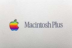 Macintosh plus Royalty Free Stock Image