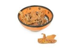 Macis in ciotola ceramica Fotografie Stock