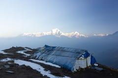 Macizo de Dhaulagiri fotos de archivo libres de regalías