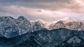 Macizo Giewont de la montaña en las montañas occidentales de Tatra fotografía de archivo