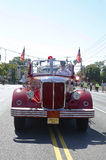 1950 Mack fire truck from Huntington Manor Fire Department at parade in Huntington, New York Stock Image