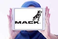 Mack Przewozi samochodem firma loga Fotografia Stock