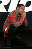 Mack Wilds. NEW YORK-APR 8: Actor Mack Wilds attends the premiere of `The Fate of the Furious` at Radio City Music Hall on April 8, 2017 in New York City Stock Photos