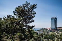 Macka Hill em Istambul, Turquia fotografia de stock royalty free