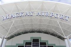 mackay的机场 免版税库存照片
