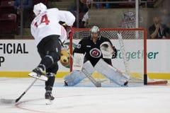 MacKenzie Blackwood der New Jersey Devils Stockfotografie