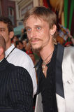 Mackenzie Crook. The Office star MACKENZIE CROOK at the world premiere of his new movie Pirates of the Caribbean: Dead Man's Chest at Disneyland, CA. June 24 Royalty Free Stock Photography