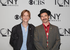 Mackenzie Crook and Mark Rylance. British stage actors Mackenzie Crook and Mark Rylance each received nominations for Tony Awards in the play Jerusalem.  They Stock Image